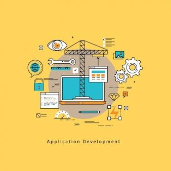 Le développement d'applications de fond