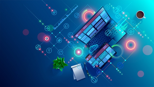 Développement, programmation d'applications logicielles mobiles