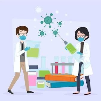 Développement d'un vaccin contre les coronavirus