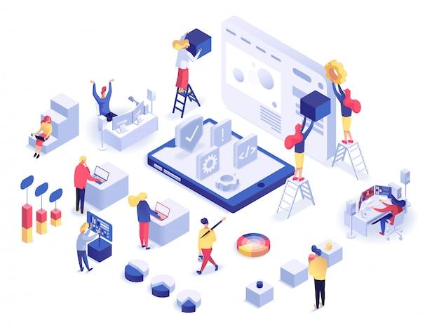 Développement web isométrique