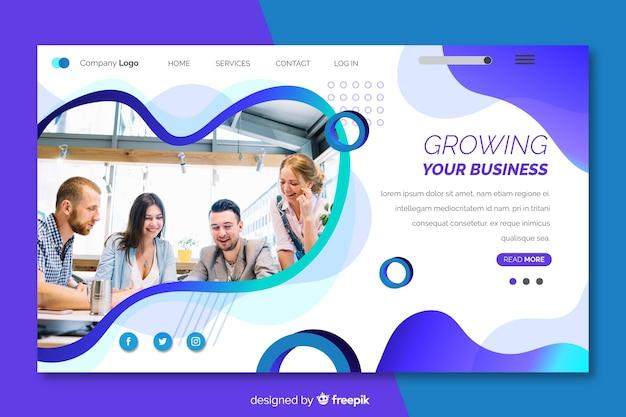 Développer la page de destination de votre entreprise
