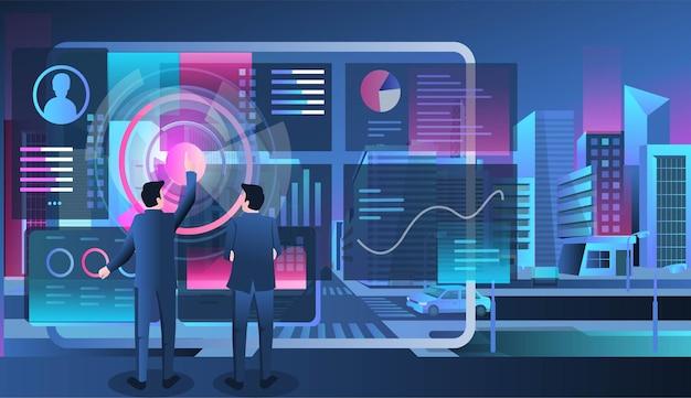 Développeur web d'optimisation de référencement pour la transformation numérique