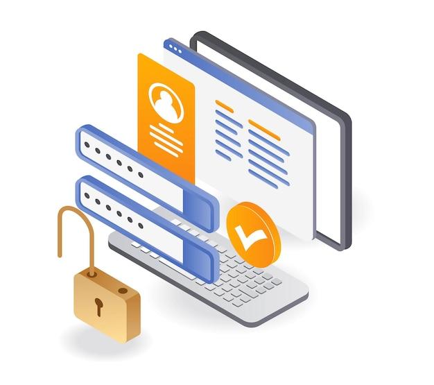 Déverrouiller la sécurité du compte par mot de passe personnel