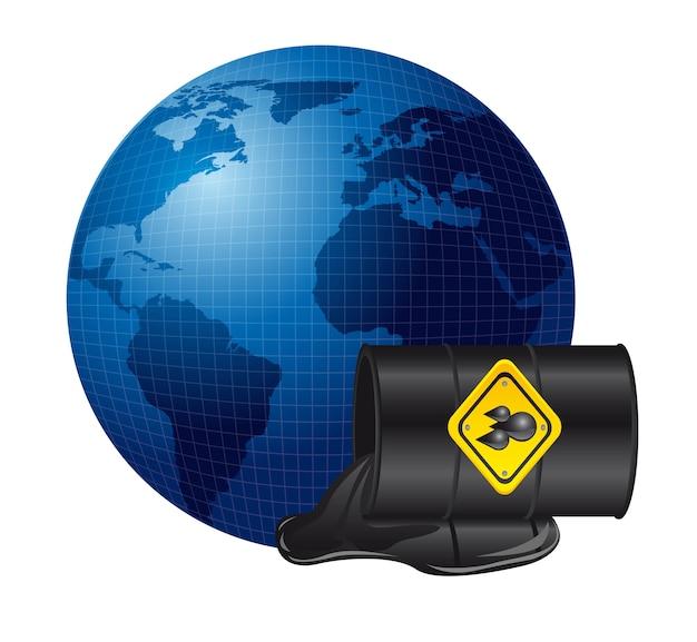 Déversement de pétrole sur la planète