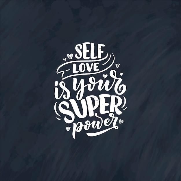 Devis de lettrage selfcare pour blog ou vente. temps pour quelque chose de gentil.