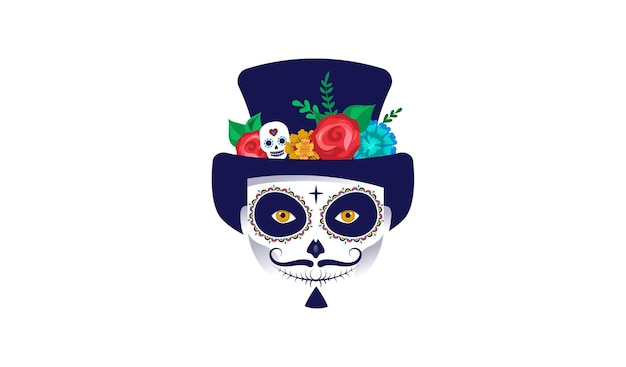 Dia de los muertos jour des morts festival mexicain de vacances