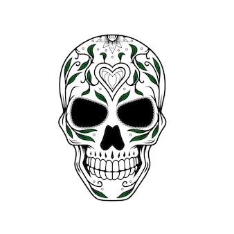 Dia de muertos crâne design d