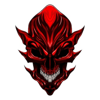 Diable mal crâne