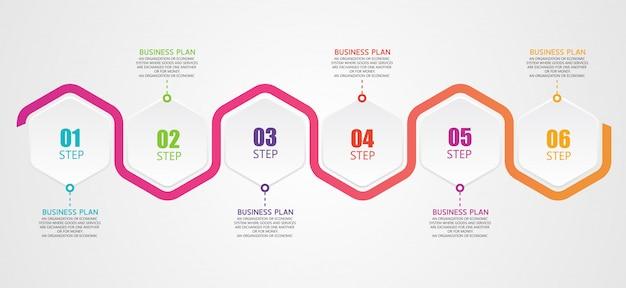 Diagramme des affaires et de l'éducation est un modèle d'illustration vectorielle de conception d'entreprise éducative
