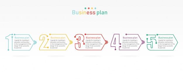 Diagramme affaires et éducation vector illustration