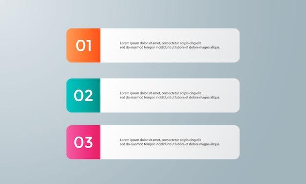 Diagramme avec étapes