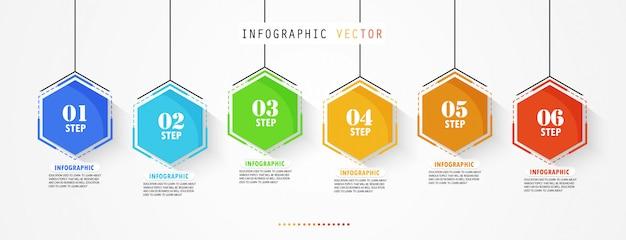 Le diagramme utilisé dans l'éducation et la conception de vecteur tire parti de l'illustration de l'éducation commerciale