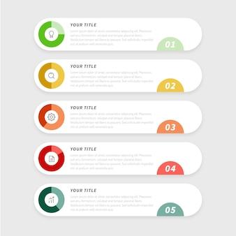 Diagrammes de balle harvey - infographie