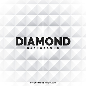 Diamant blanc fond