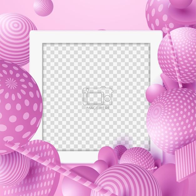 Diapositives abstraites modèle unique de bannière de médias sociaux moderne modifiable. tout le monde peut utiliser cette conception facilement. bannière web promotionnelle pour les médias sociaux. vente élégante et promo discount - vector.