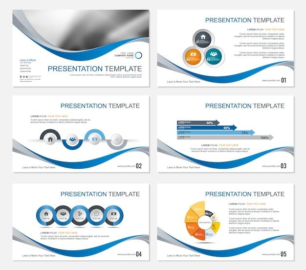 Diapositives de présentation de modèle conception de fond.