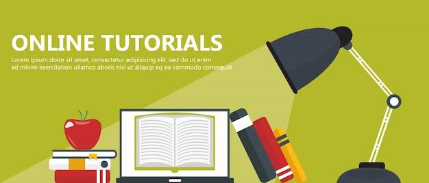 Didacticiels en ligne, concept e-learning