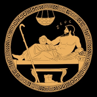 Dieu grec antique zeus.