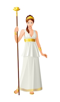 Dieux grecs et déesse hera