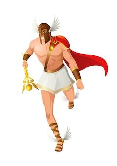 Dieux grecs et déesse hermès