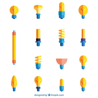 Diférents styles de ampoules