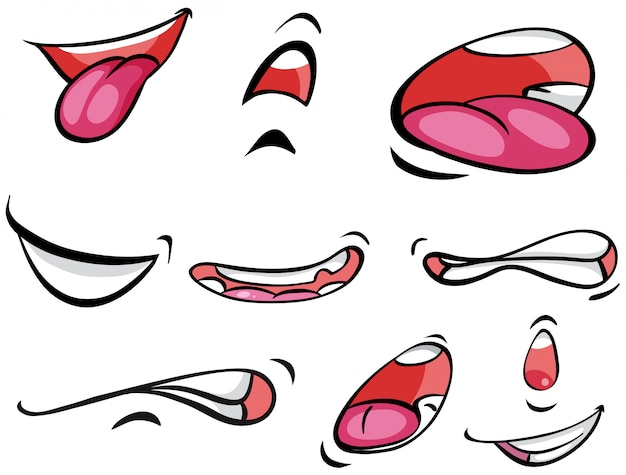 Différentes expressions sur mounth