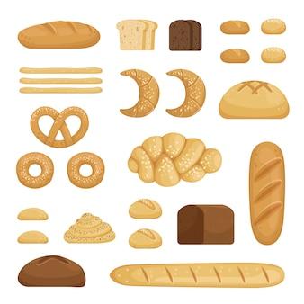 Différentes sortes de pain