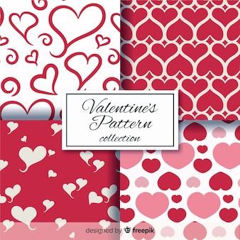 Différents coeurs saint valentin