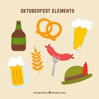 Différents éléments du plus oktoberfest