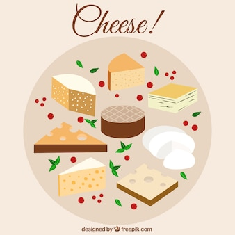 Différents fromages