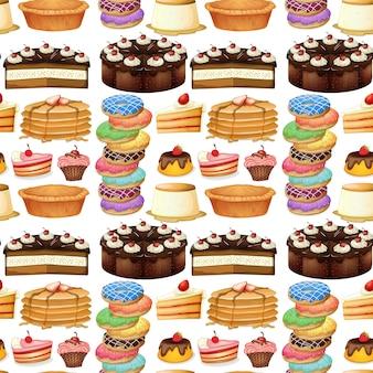 Différents types de desserts sans soudure