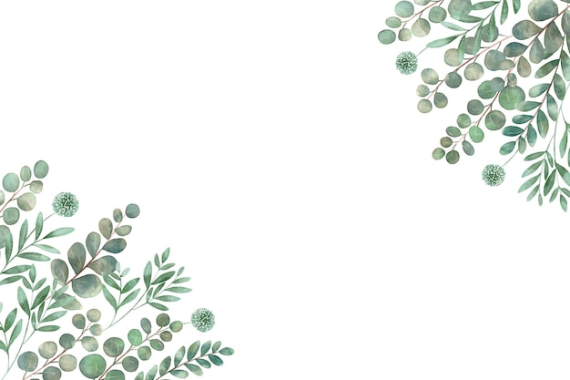 Différents types de feuilles dans l'espace de copie de coin