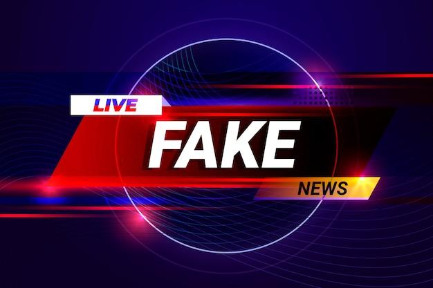 Diffusion en direct de fausses nouvelles