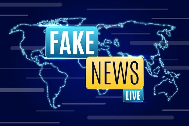 Diffusion de fausses nouvelles en direct