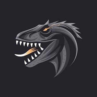 Dinosaure féroce
