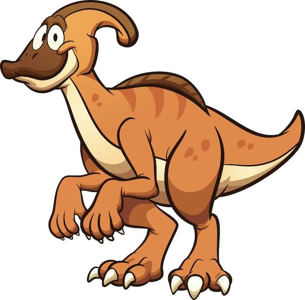 Dinosaure parasaurolophus