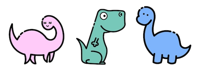 Dinosaures mignons colorés. fond enfantin illustration pour tissu, illustration stock textile.