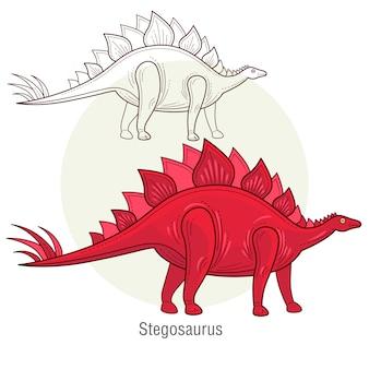 Dinosaurestegosaurus