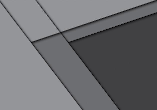 Direction de la flèche ton gris avec fond espace vide.