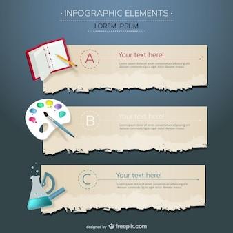 Disciplines d'enseignement infographiques