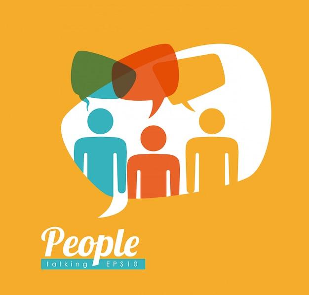 Discours des gens