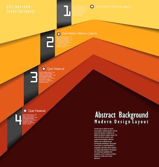 Disposition de conception moderne