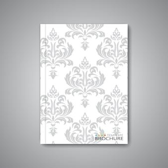Disposition de modèle abstrait moderne pour brochure, magazine, flyer, livret, couverture ou rapport