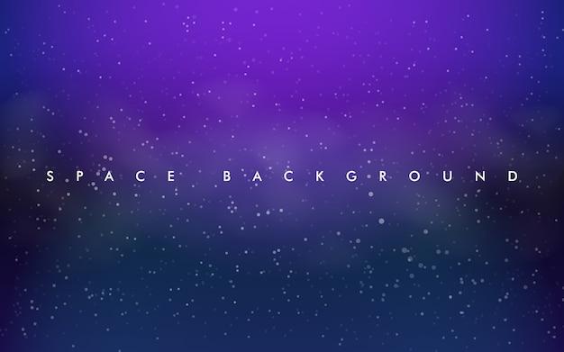 Disposition de vecteur violet clair, rose avec des étoiles cosmiques.