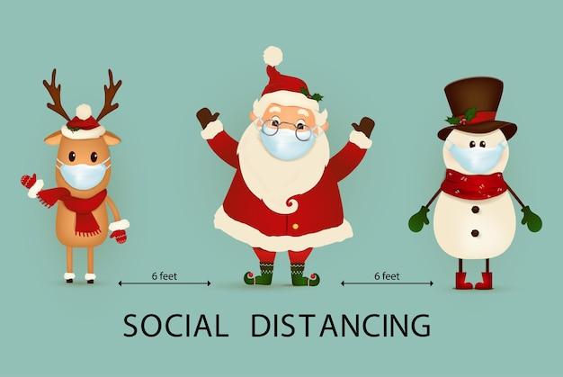 Distance sociale covid