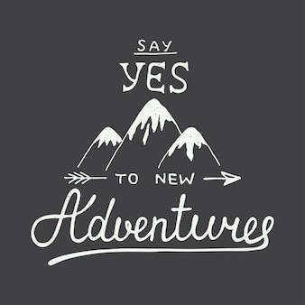 Dites oui à de nouvelles aventures dans le style vintage