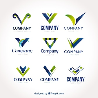Divers logos abstraits
