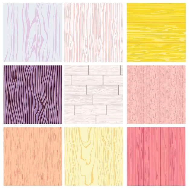 Diverses surfaces de texture du bois. fond de produits en bois