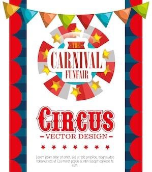 Divertissement fête foraine carnaval