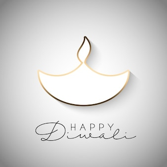 Diwali fond de célébration avec la combustion conception de la lampe